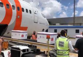 Paraíba recebe quase 77 mil novas doses de vacinas do Butantan e AstraZeneca
