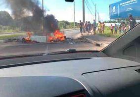 Greve dos caminhoneiros continua neste sábado em João Pessoa; pontos de bloqueio são registrados