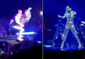 Vídeo: Lady Gaga leva tombo durante show em Las Vegas