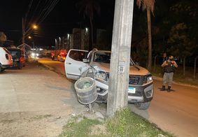 Perseguição termina com colisão e dois suspeitos de assalto presos, em JP
