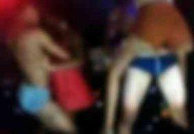 Paraibanos nus em festa realizada em prédio público vira caso de polícia; assista