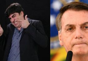 Marcelo Adnet imita Jair Bolsonaro