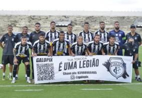 Time paraibano empatou no Estádio Amigão, em Campina Grande.