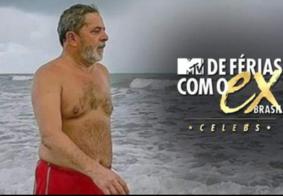 """Possibilidade de Lula ser solto faz internet imaginar ex-presidente no """"De Férias Com o Ex"""""""