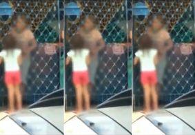 Criança que foi castigada sendo impedida de entrar em casa é retirada da família na PB