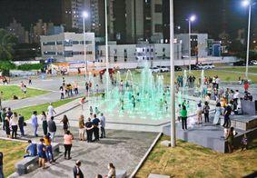 Fonte no bairro do Bessa, em João Pessoa