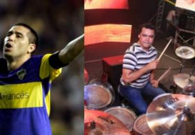 """Vídeo: perfil da Liga dos Campeões confunde nome de """"Riquelme"""" e marca baterista ex-aviões"""