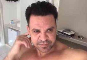 """""""Quero até pegar para imunizar meu corpo"""", diz Eduardo Costa sobre Covid-19"""
