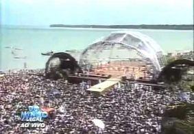 TV Tambaú 30 anos: 'Domingo Legal' foi transmitido direto de João Pessoa