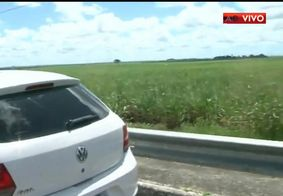 Criminosos teriam usado carro roubado em Lucena para o crime