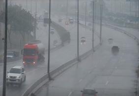 Chove 32 milímetros em João Pessoa nas últimas 12h