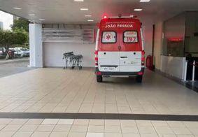 Equipes do Samu socorreram a vítima ao Hospital de Emergência e Trauma