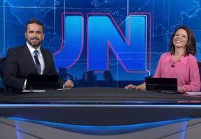 Apresentador cita Djavan no fim do 'Jornal Nacional' e viraliza na web