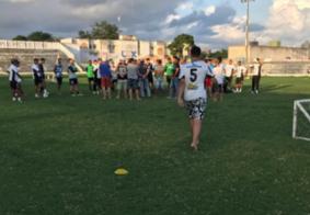 Vídeo: Homens invadem treino do Treze e cobram 'vontade' aos jogadores