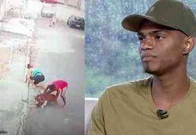 Jovem que salvou menino de pitbull ganha curso de segurança