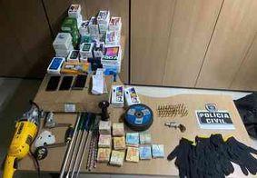 Polícia Civil prende suspeito e recupera produtos furtados de loja em Santa Rita