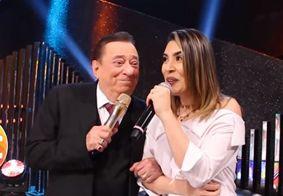 Naiara Azevedo e Raul Gil cantam modão sertanejo neste sábado (29)