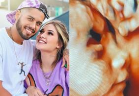 Zé Felipe exibe imagem da filha na web e encanta seguidores; veja
