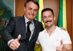 """""""Sou de Deus"""", diz Diego Hypolito após críticas por foto com Bolsonaro"""