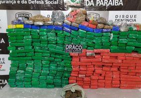 Polícia apreende 350kg de maconha escondidos em sítio na PB
