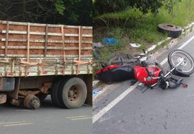 O acidente foi registrado na manhã desta segunda
