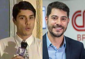 """Evaristo publica vídeo de 26 anos atrás no qual aparece como repórter: """"Estagiário"""""""