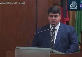 Dinho é o novo presidente da Câmara Municipal