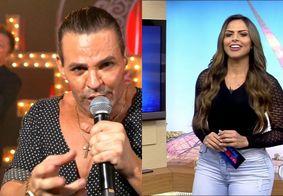 """Em live, Eduardo Costa manda """"beijo especial"""" para jornalista da Record e levanta suspeita de romance"""