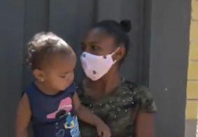 Vídeo: mãe é surpreendida com doações de alimentos para os filhos após destaque em programa na TV