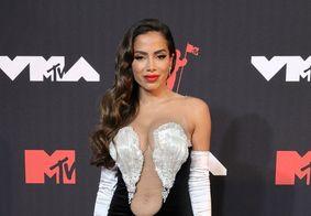 Anitta no tapete vermelho do VMA