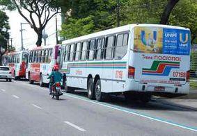 Horário dos ônibus é estendido a partir da próxima semana em João Pessoa
