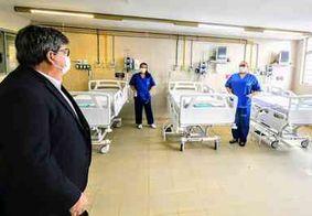 Hospital com mais 150 leitos para atender pacientes com Covid-19 é inaugurado em João Pessoa