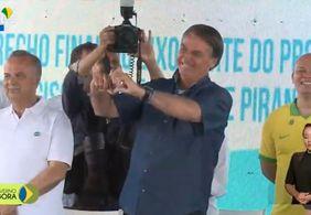 Reveja o discurso de Bolsonaro na Paraíba