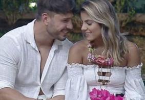 Em A Fazenda, Lucas e Hariany terminam o namoro mais uma vez