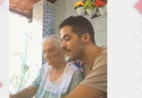Isolamento produtivo: Neto cria rotina para avó de 96 anos