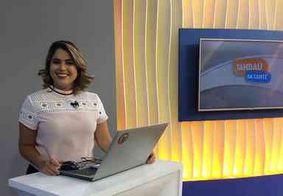 Karine Tenório aceita desafio e dá receita de cuscuz no programa 'Com Você'; assista