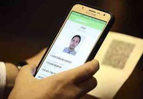 Condutores adotam CNH Digital; veja as condições para aderir o documento online