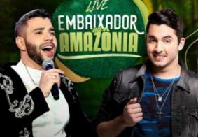 Ao vivo: acompanhe a Live de Gusttavo Lima e Jonas Esticado