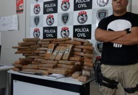 Drogas: cem quilos de maconha são apreendidos em Campina Grande