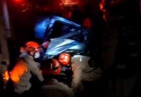 Colisão entre veículos deixa dois feridos e um morto no Litoral Sul da PB