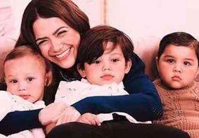 """Após acusações de excluir filho adotivo, Sarah Poncio se declara: """"amor sem medidas"""""""