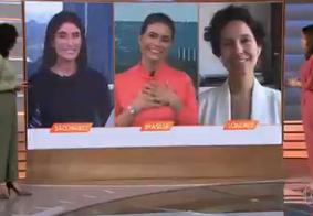 Atriz anunciou saída do telejornal. Ela integrará o jornal da Globo
