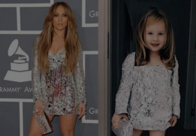 Garotinha de 4 anos imita looks de famosos e bomba na web; veja