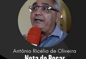 Antônio Ricélio de Oliveira morreu vítima da covid-19