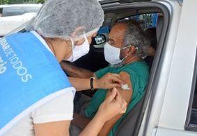 João Pessoa imuniza mais de 2 mil idosos acima de 70 anos, nesta quinta (18)