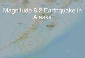 Tremor sacudiu o Sudoeste do Alaska