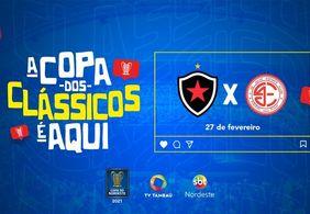 TV Tambaú mostra com exclusividade Botafogo-PB x 4 de Julho, pela Copa do Nordeste