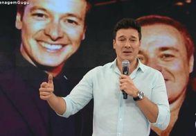 Rodrigo Faro pergunta por 'audiência' durante homenagem para Gugu; veja o vídeo