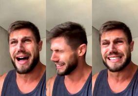 Ex-BBB Jonas chora e diz sofrer ameaças após fala de Mari sobre zoofilia; veja