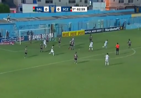 Salgueiro e Santa abriram a terceira rodada da Copa do Nordeste